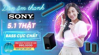 Dàn âm thanh Sony: 5.1 thật, âm hay, giá cực đẹp! (HT-S20R) • Điện máy XANH