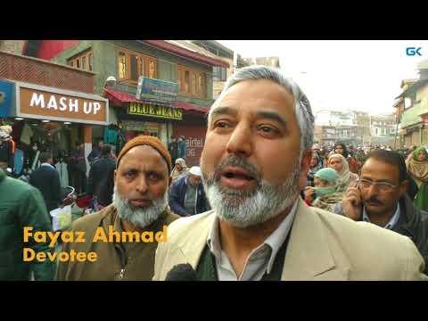 Thousands offer 'Khoja Digar' on Urs of Khwaja Naqshbandh Sahib in Srinagar