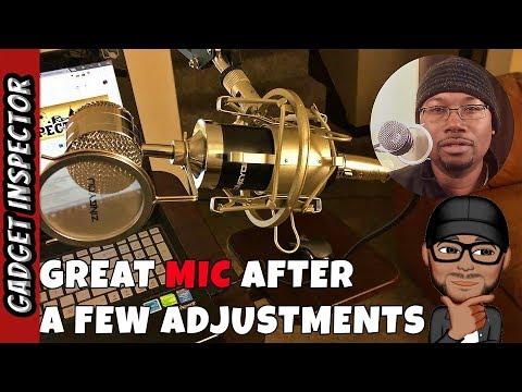 condenser microphone hookup