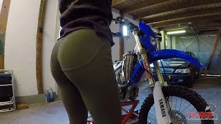Cleaning and fixing my dirtbike!