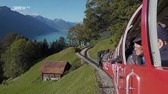 Spektakuläre Zahnradbahn - Die Brienz-Rothorn-Bahn in der Schweiz