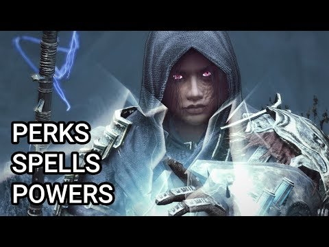 Skyrim With 1326 Mods - Ultimate Mod List 2020 - Spells, Perks & Powers