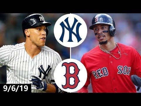 New York Yankees vs. Boston Red Sox Highlights | September 6, 2019 (2019 MLB Season)