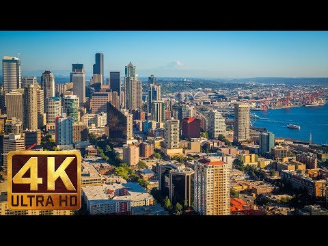 Seattle - The Emerald City - 4K Documentary Film with City Views & Relaxaing Music - Part 2