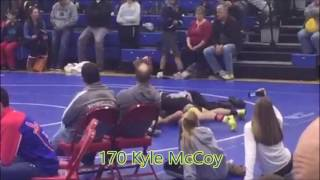 KILTED KLASSIC HIGHLIGHT: 170 Kyle McCoy gets the pin!