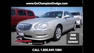 USED 2008 Buick Lacrosse CX for Sale - Los Angeles, Cerritos, Downey CA - PREOWNED DEAL 800.549.1084