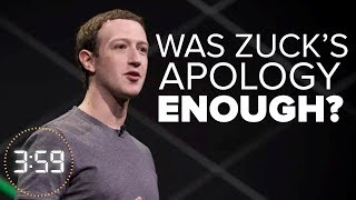 Is Facebook's apology over Cambridge Analytica enough? (The 3:59, Ep. 374)