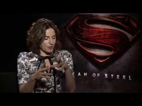 Man Of Steel (2013) Antje Traue Interview [HD]