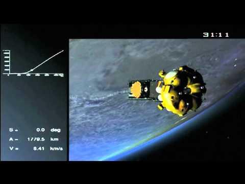 EU launches first Galileo satellite