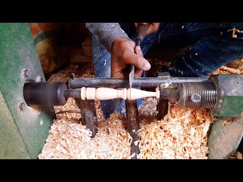 Amazing Short Wooden Craft Making By Woodturning Tools   Woodturning Techniques in BD