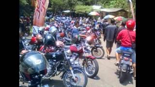 Foto-Foto Kontes Modifikasi Motor Honda CB 100 Klasik Plat AE Karesidenan Madiun