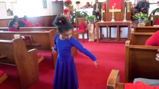 Take Me to the King praise dance by Kayla!