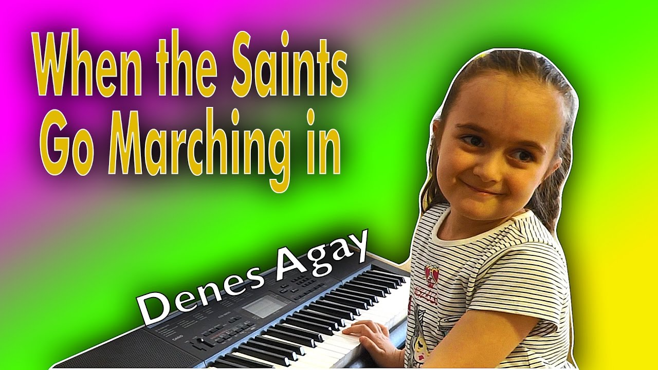 When The Saints Go Marching in - Piano - (Louis Armstrong ...