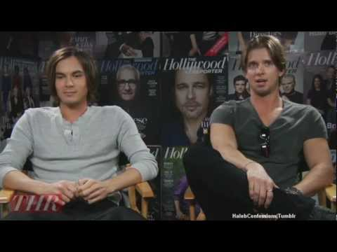 Tyler Blackburn & Drew Van Acker Hollywood Reporter