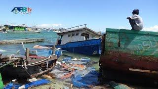 Pasca Seroja, Ratusan Perahu Nelayan Kota Kupang Hilang, Rusak & Tenggelam