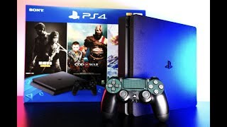 Sony PlayStation 4 - PS4 Slim Unboxing and Review / Still Worth It In 2019?