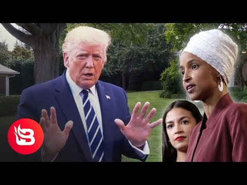 """Trump Slams AOC, Ilhan Omar: """"We're Dealing With People Who Hate Our Country"""""""