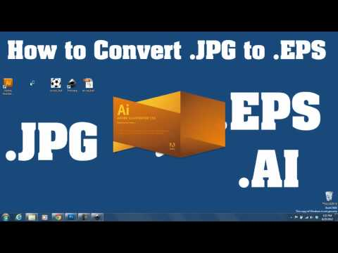 Trace .JPEG To .EPS Vector - For Beginners FREE/EASY