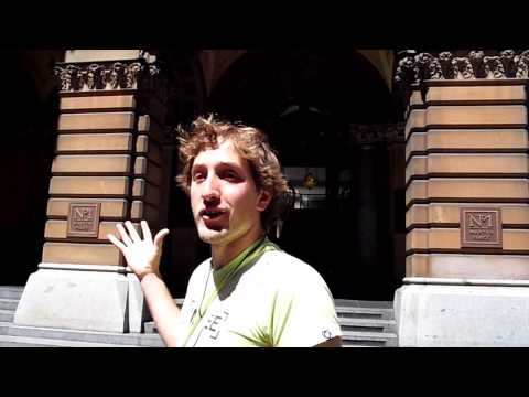 """I Am Free"" Sydney Walking Tour #4: Sydney Hospital & General Post Office (Brasileiro na Australia)"