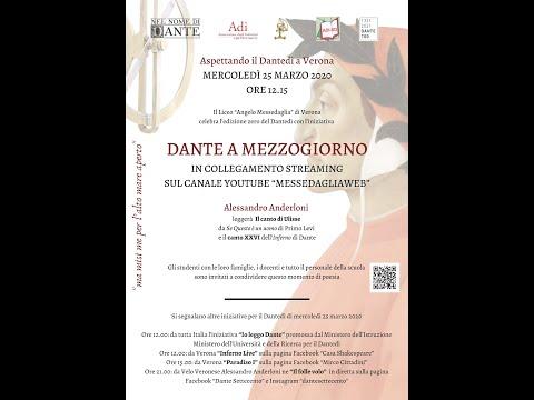 Dante a mezzogiorno