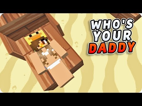 LOS BEBÉS VAN A LA PLAYA 😳🏖️ | WHO'S YOUR DADDY EN MINECRAFT