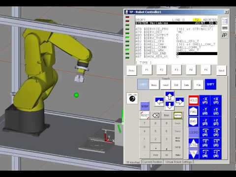 System variables on a FANUC Robot controller