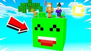 SURVIVING ON A GIANT JELLY IN MINECRAFT!