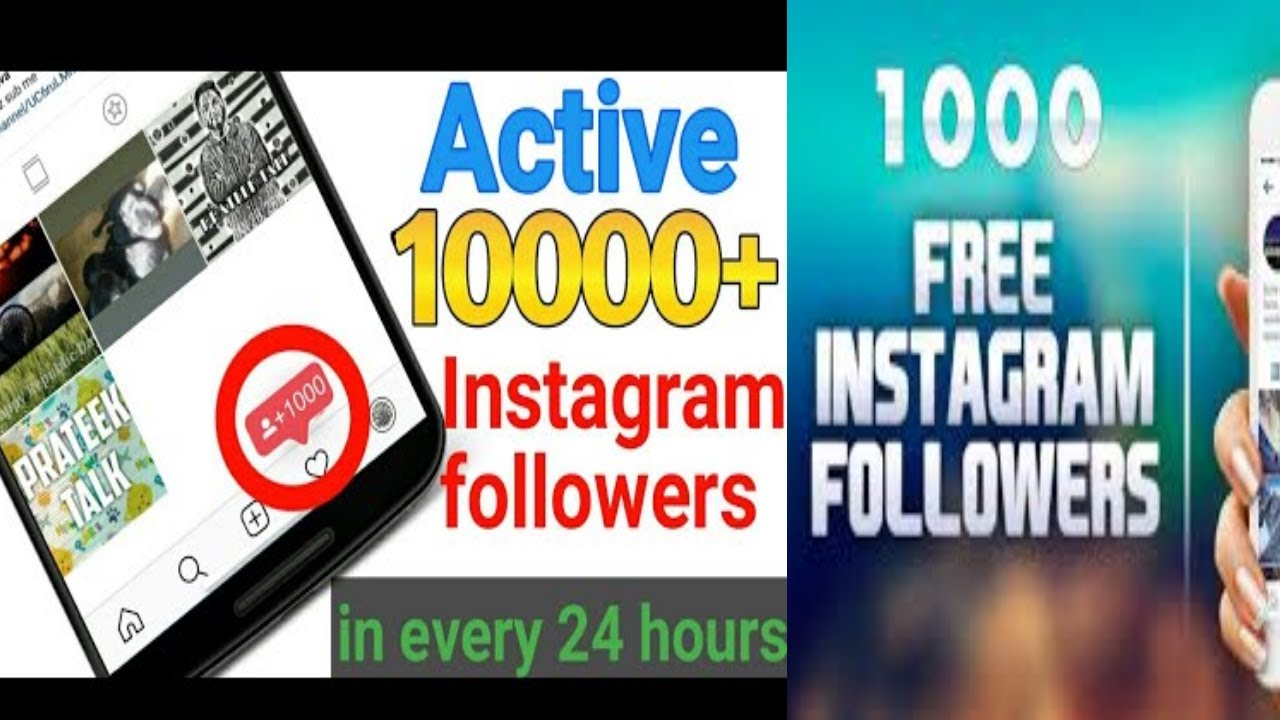 Free fake Instagram followers   how to get free Instagram followers