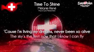 "Mélanie René - ""Time To Shine"" (Switzerland)"