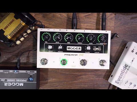 Mooer Preamp Live   Delicious Audio - The Stompbox Exhibit's