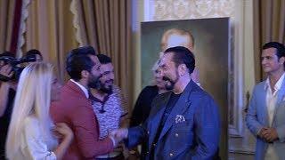 Adnan Oktar'ın 2018 Çırağan'daki iftar davetinde ünlü akını