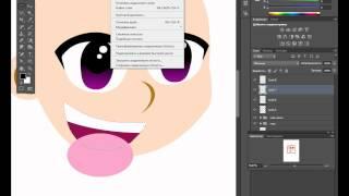 Аниме в фотошопе, нарисовать аниме героя(Аниме в фотошопе, нарисовать аниме героя САЙТ АВТОРА: http://kopirka-ekb.ru/, 2012-09-11T18:10:41.000Z)