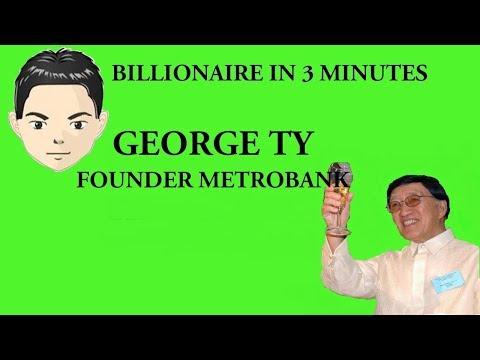 Billionaire George Ty In 3 Minutes (Metrobank, GT Capital)