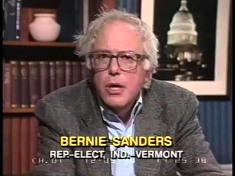 C-SPAN Interviews Bernie Sanders Right After He Becomes a Congressman (1990)