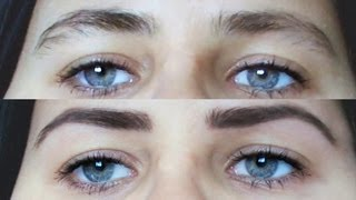 Ako správne vytvarovať obočie / How To Get Your Eyebrows In Shape
