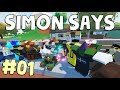 SIMON SAYS in Unturned! 48 PLAYERS - 5 MYTHICALS! #01