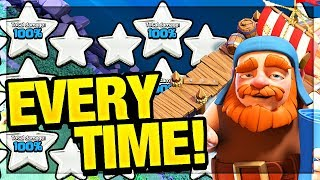 UNFAIR? THREE Stars EVERY Time! Clash of Clans Builder Base Strategy Update!
