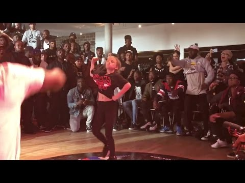Princess Tchozn CRUSHES Preselection Round  EBS Krump Championship '16