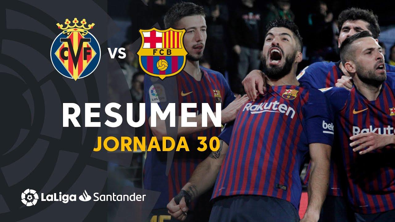 Download Resumen de Villarreal CF vs FC Barcelona (4-4)