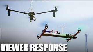 Flite Test - Tricopter vs Quadcopter - Viewer Response thumbnail
