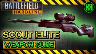 scout elite review gameplay best gun setup   battlefield hardline weapon guide bfh