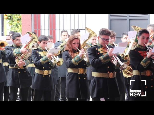 VÍDEO: Certamen de Bandas de Música organizado por las cofradías del Amor y Soledad en Lucena