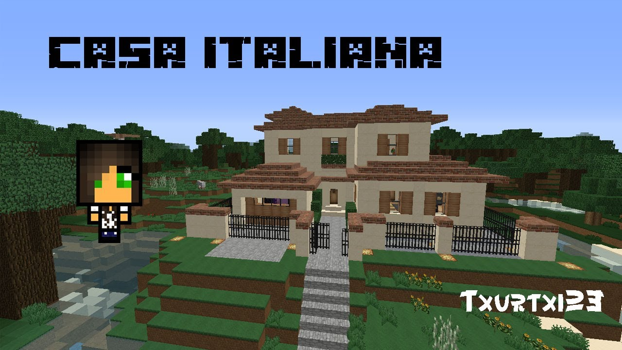 Minecraft Casa italiana  Links de descarga  YouTube