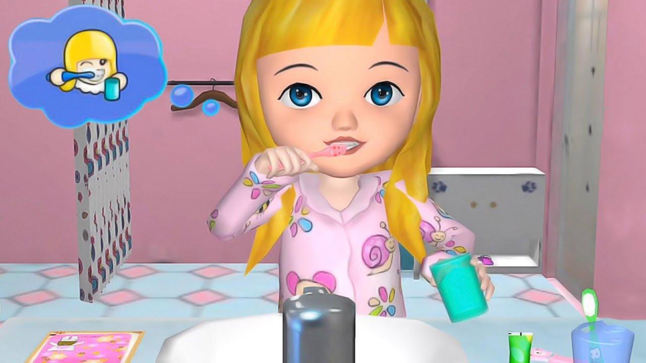 Divertido Animación Juego Para Chicas Aprende Cómo Vestirse Maquillarse Cambio De Imagen Jugar