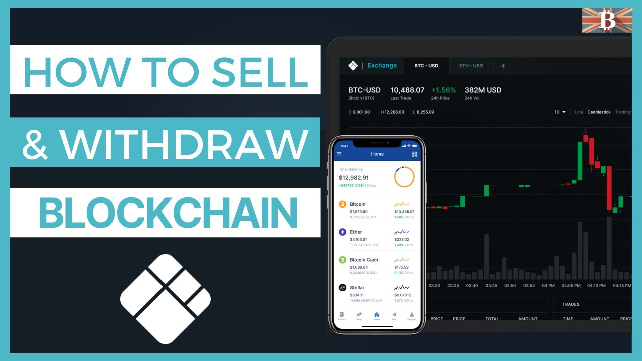 How to Sell Bitcoin & Withdraw on Blockchain.com 2020