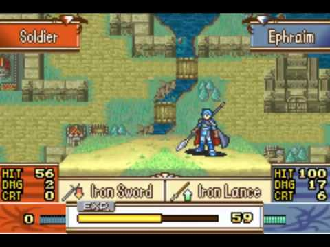 Let's Play Fire Emblem: The Sacred Stones Part 11: Saving Duessel