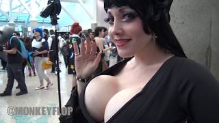 BEST COSPLAY HOT SEXY LA COMIC CON 2018 Music Video 4K HD