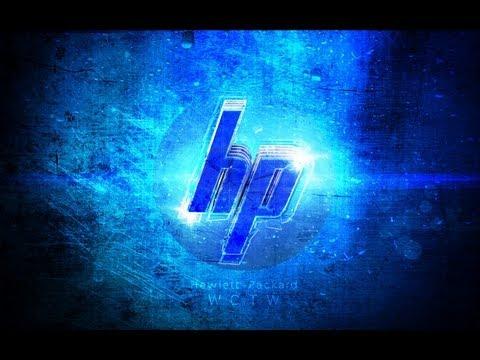 HP Laptop // Wallpaper speedart