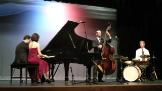 JUST A CLOSER WALK: STEPHANIE TRICK / PAOLO ALDERIGHI PLUS TWO at ROSSMOOR (March 11, 2014)