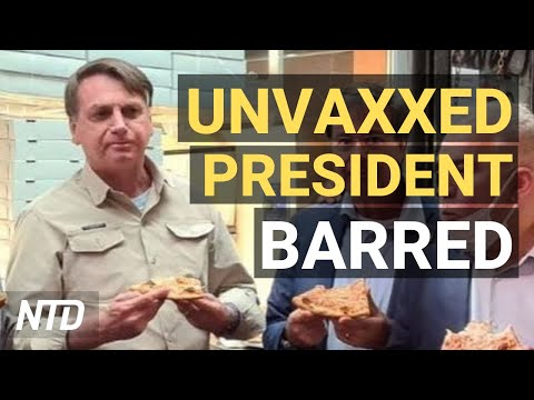 Brazil's Bolsonaro Unvaccinated in NYC; Lawmakers Question Mayorkas and FBI Director | NTD